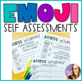 Emoji Self Assessment Posters and Rubrics