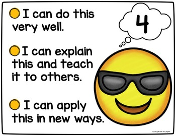 Emoji Self-Assessment Tools - Posters, Cards, & Student Response Page