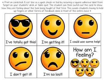 Emoji Classroom Assessment Tools Set - Updated