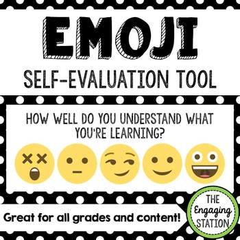 Emoji Self-Evaluation Tool
