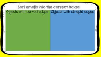 Emoji Shape Sorting