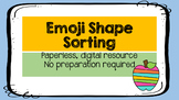 Emoji Shape Sorting