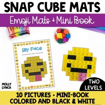 Emoji Snap Cube Mats + Mini Book