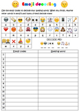 Emoji Spelling Decoding worksheet #BTSFRESH
