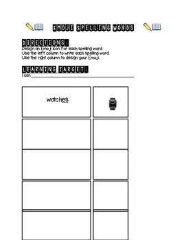 Emoji Spelling Practice