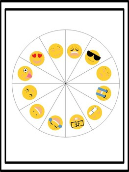 Emoji Spin and Read: Informational Passages