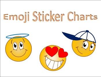 Emoji Sticker Charts