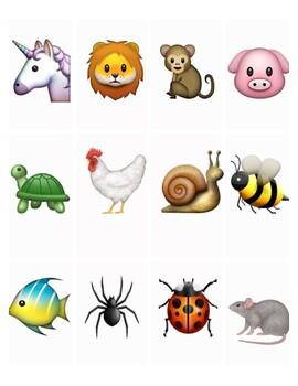 Emoji Story Cards 12 - Printables
