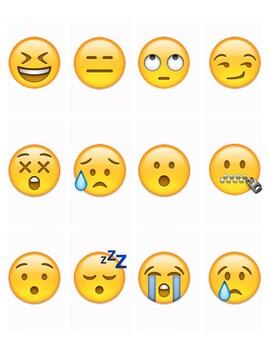 Emoji Story Cards 3 - Printable