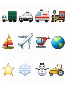 Emoji Story Cards 8 - Printables