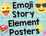 Emoji Story Element Poster Set