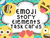 Emoji Story Element Task Cards