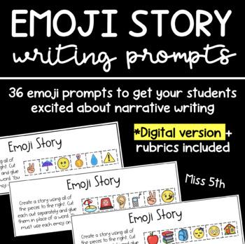 Emoji Writing Prompt PACK