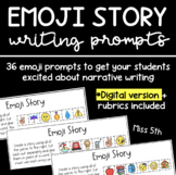 Emoji Story- Writing Prompt PACK