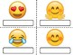 Emoji Student Desk Name Tags