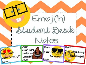 Emoji Student Desk Notes