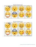 Emoji Student Feelings Identification Chart