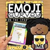 Emoji Survey using Pic Collage on the iPad