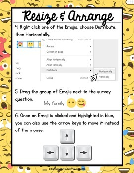 Emoji Survey on Google Slides