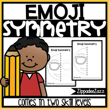 Emoji Symmetry Drawing Activity for Art and Math