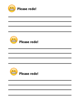 Emoji Teacher Comment Cards - Classroom Management