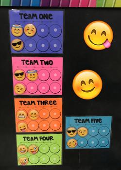 Emoji Team Reward System