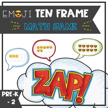 Emoji Ten Frame ZAP - math game
