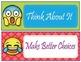 Emoji Theme Behavior Clip Chart - EDITABLE