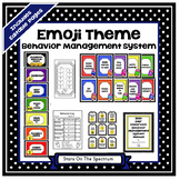 Emoji Theme*Emoji Theme Behavior Management*Emoji Clip Chart