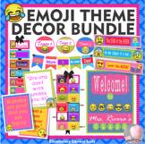 Emoji Theme Classroom Decor - BUNDLE