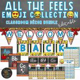 Emoji Classroom Theme Decor Bundle | Classroom Management | Back to School