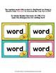 Emoji Theme Classroom Decor Dolch Word Wall Cards