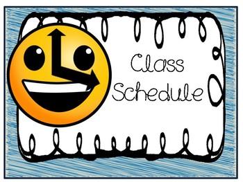 Emoji Theme Classroom Set