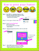 Emoji Theme - EDITABLE Welcome Poster - 18 x 24