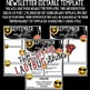 Editable Newsletter Templates - Emoji Theme