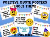 Emoji Theme Positive Quote Set