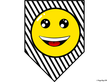 Emoji Theme Welcome Back to School Sign and Banner