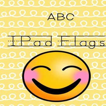 Emoji Themed- ABC (Print) iPad Flags