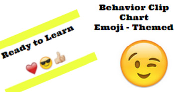 Emoji-Themed Behavior Clip Chart