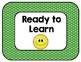 Emoji Themed Behavior Clip Chart - Bright, Colorful Polka Dots