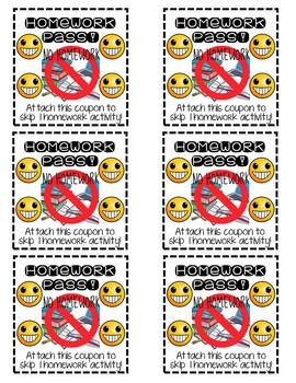 Emoji Themed Behavior Rewards AND Money