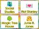 Emoji Themed Book Bin Labels