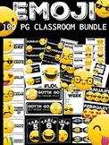 Emoji Themed Classroom Decor Bundle 100 Pages (Hashtag)