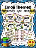 Emoji Themed Dewey Signs Pack