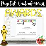 Emoji Themed Digital Awards | Google Slides | Distance Learning