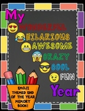 Emoji Themed End of Year Memory Book