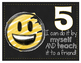 Emoji Themed Four and Five-Point Scales Classroom Poster set