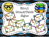 Emoji Themed Group/Table Signs