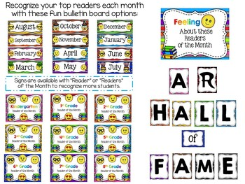 Emoji Themed Library Media Center Pack {with Editable Passes and Signs}