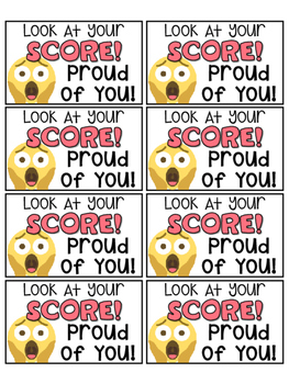 50 Emoji Themed Motivational Positive Notes & Reward Coupons